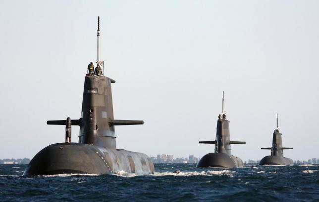 france to build australia subs but us to arm them