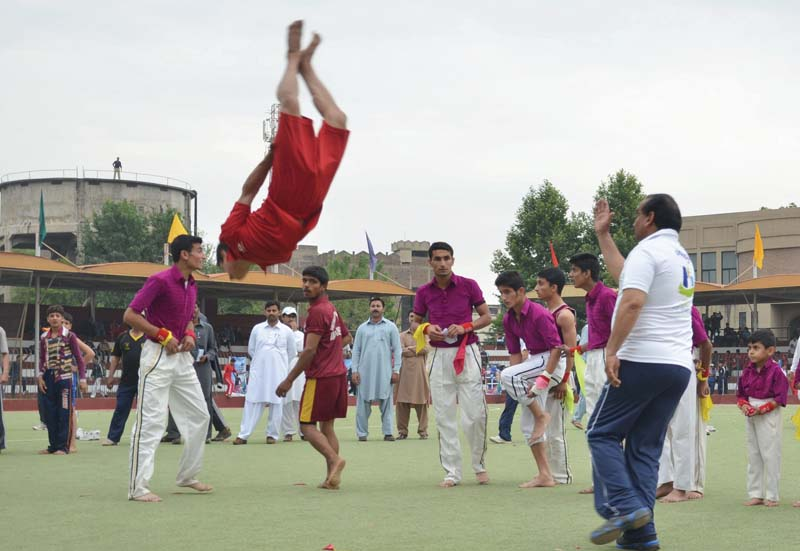 3 000 players participate in three day inter regional games