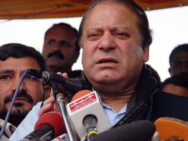 Prime Minister Nawaz Sharif. PHOTO: NNI/FILE