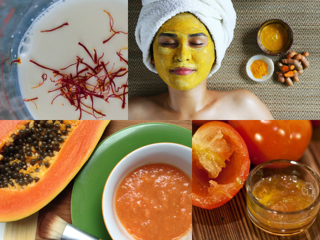 Papaya, cucumber, tomato.. here's everything you need for a glowing skin.