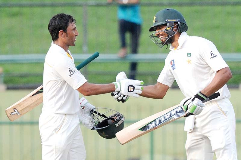 Shan and Younus impressed the most in the fitness camp, but may well find themselves pegged by Misbah's results. PHOTO: AFP