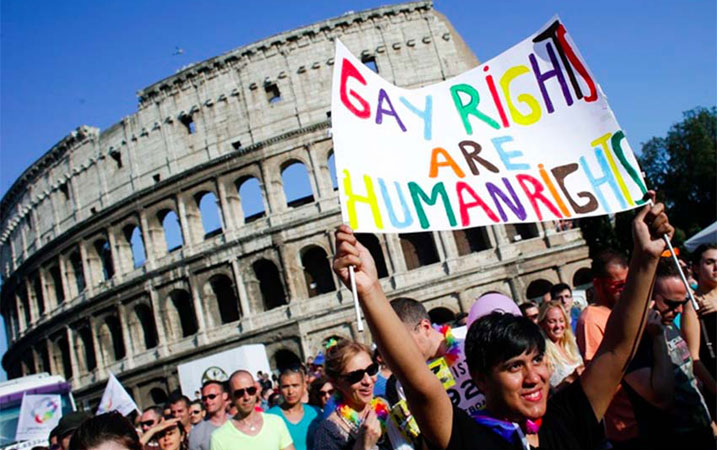 italy holds confidence vote on gay unions bill