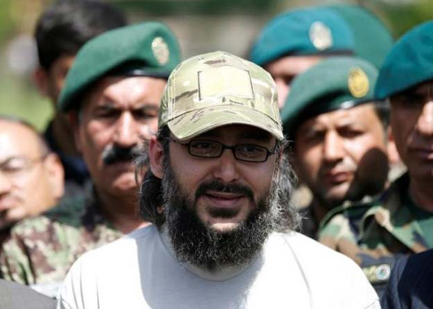ali haider gilani speaks to media after he was rescued in afghanistan in a joint operation by afghan and us forces at the defence ministry in kabul afghanistan may 11 2016 photo reuters