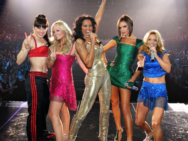 the spice girls reunite to record new song