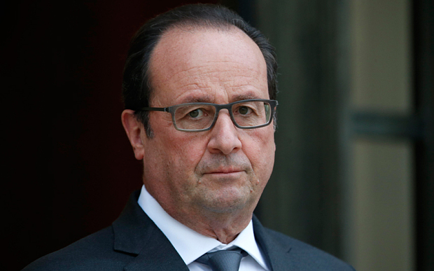 french president says won t back down on labour market reform