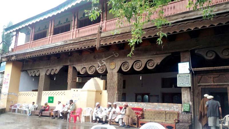 fruit of labour 250 year old mosque stands tall among kalam s stunning views