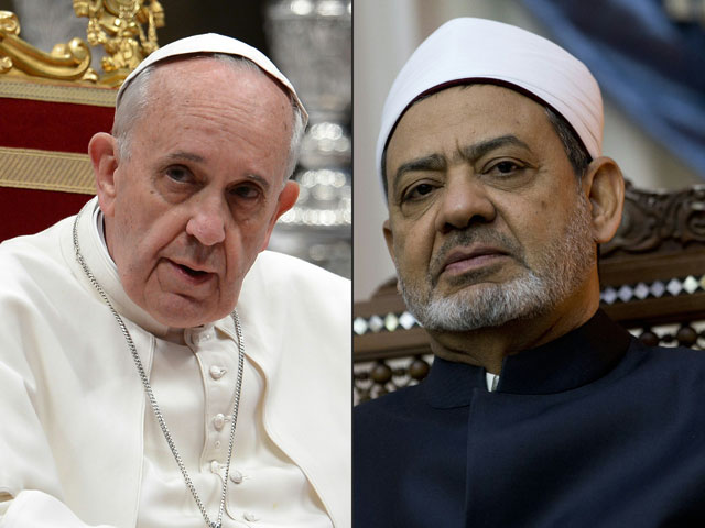 pope francis to receive sunni muslim leader at vatican
