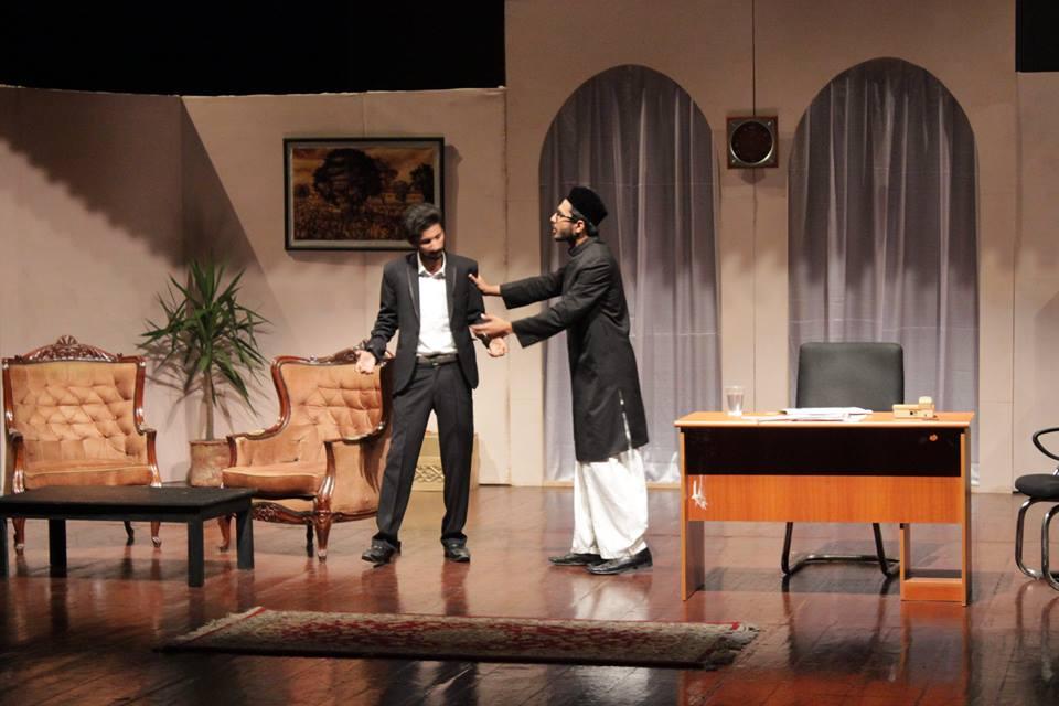 despite comical dialogues play fails to convey message