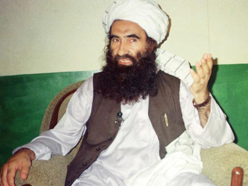 a file photo of taliban leader sirajuddin haqqani photo file