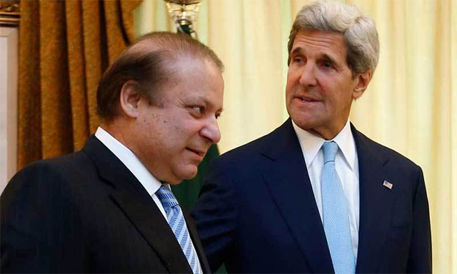 PM Nawaz confirms he received a phone call from US Secretary John Kerry at 10pm on Saturday regarding the drone strike. PHOTO: REUTERS