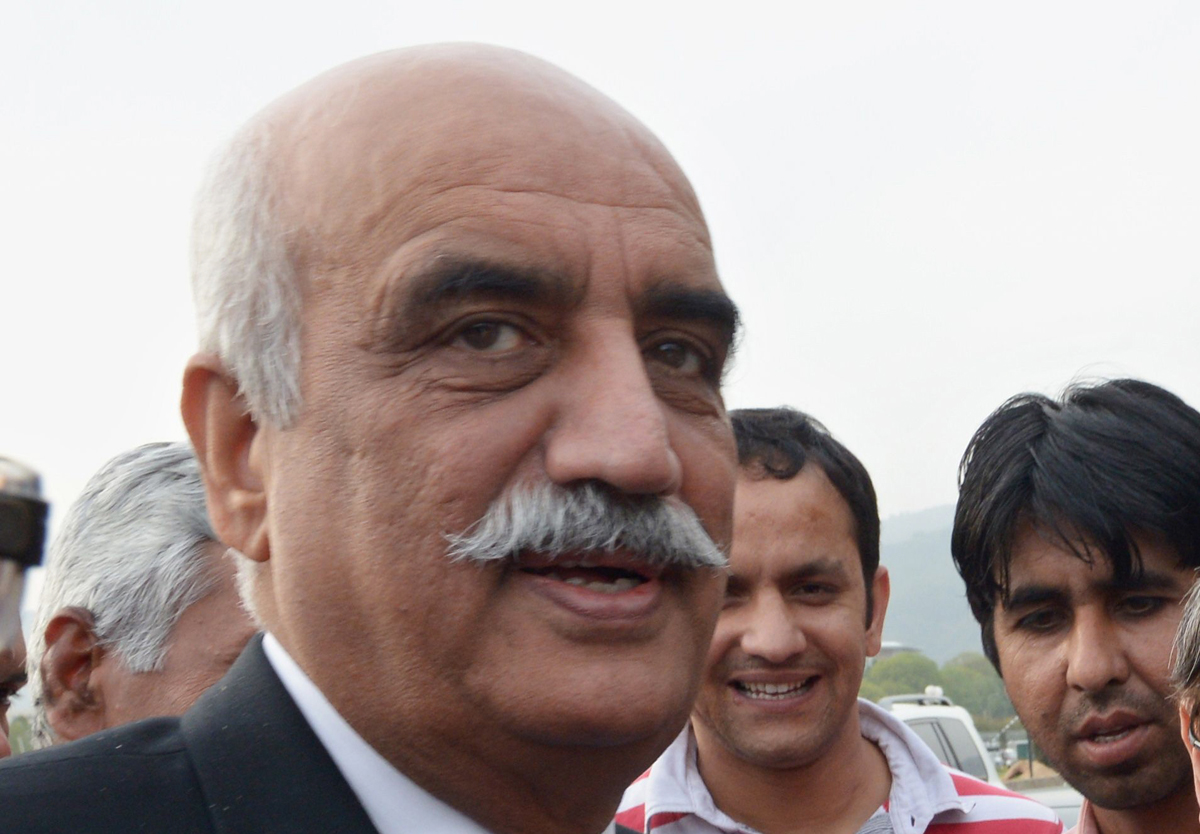 ppp leader khursheed shah released on 96 hour parole