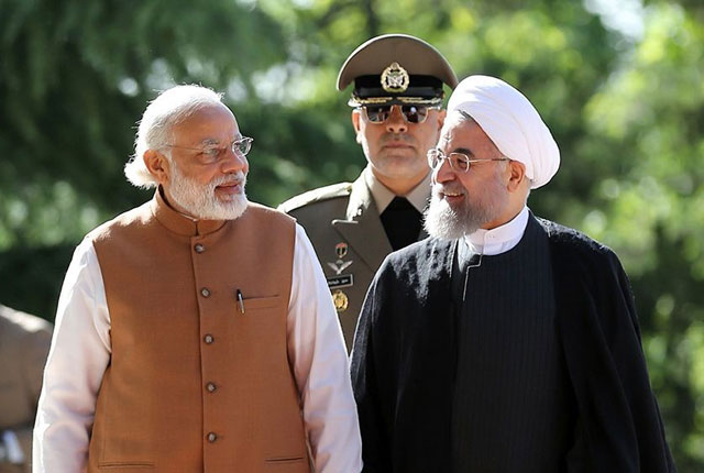 iran afghanistan india sign three way transit accord