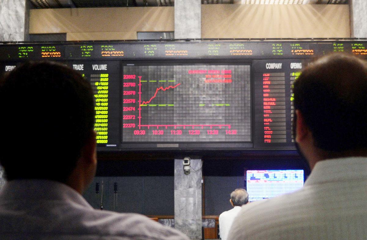 Benchmark KSE-100 index rises 29.85 points.