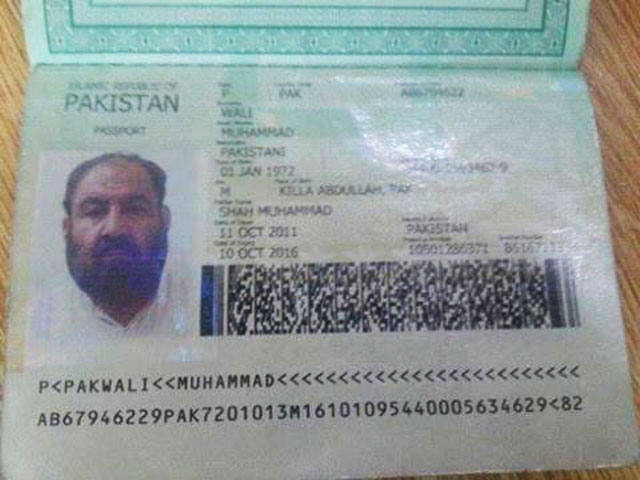 Taliban chief also owned flat in Karachi since 2012. PHOTO: TWITTER