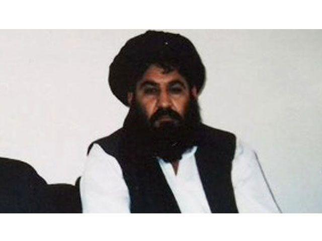 A file photo of Taliban chief Mullah Akhter Mansoor.