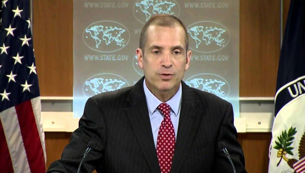 US Department of State Deputy Spokesperson Mark C. Toner. PHOTO: REUTERS