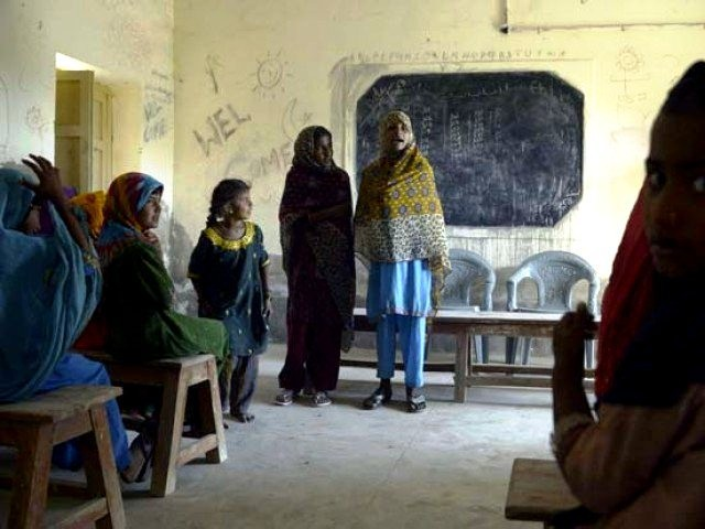 new report puts punjab k p ahead of sindh balochistan on various educational parametres photo afp