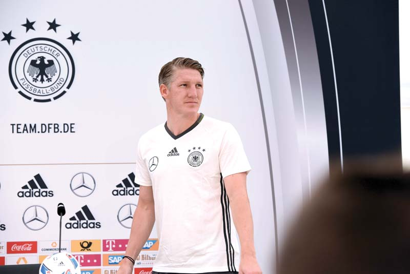 The World Cup winning midfielder has not played since tearing his knee ligament while training with Germany in March and has until Saturday to prove his fitness. PHOTO: AFP