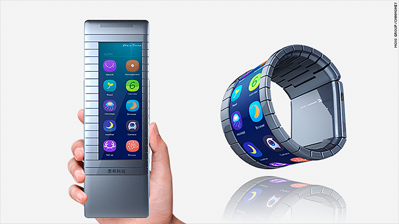 world s first bendable smartphone to go on sale this year