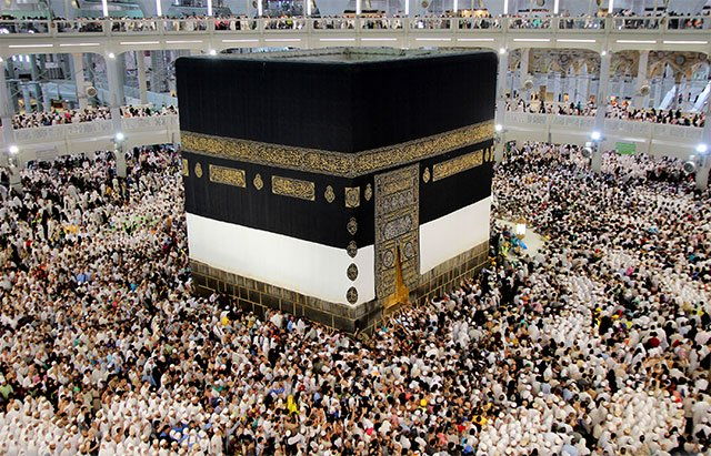 sun will align directly over kaaba today