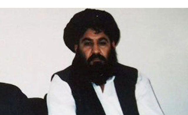 mullah akhtar mansoor photo file