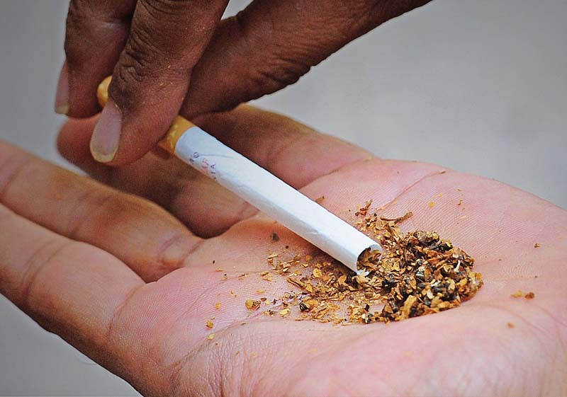 A study revealed that use of chewable tobacco has risen by 42.4% as compared to figures in 2012 National Housing Survey. PHOTO: FILE