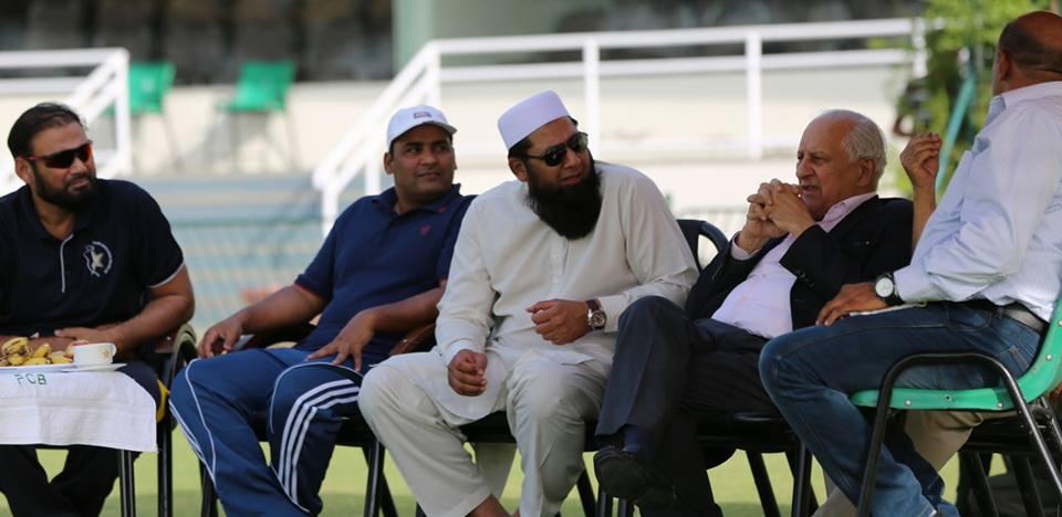 faith in cricket inzamam leads the way at gaddafi skill camp