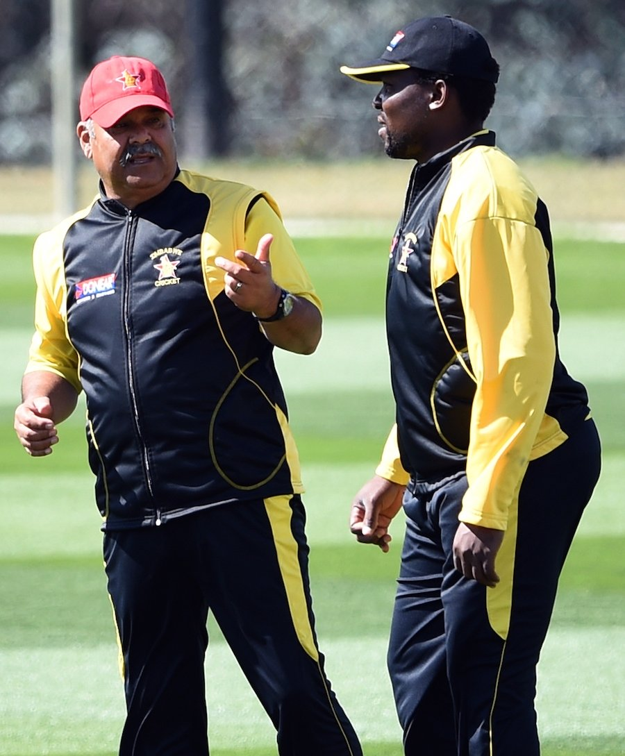 zimbabwe axe coach captain before home series against india