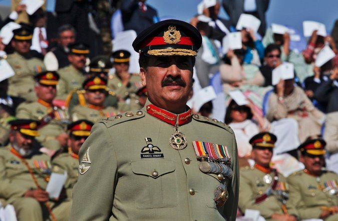Army chief says country ready to pay any price to turn 'dream' project into reality.