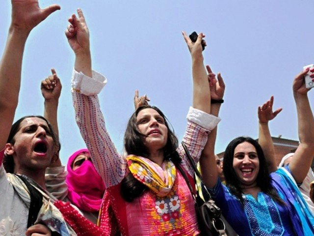 transgenders can either not get cards made or nadra put male for gender photo afp