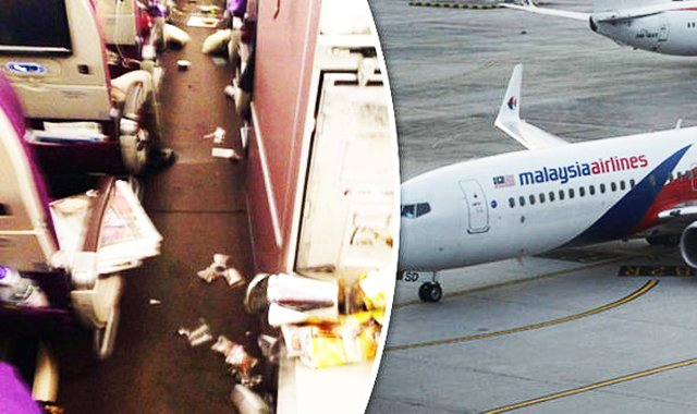 several hurt by turbulence on malaysia airlines flight