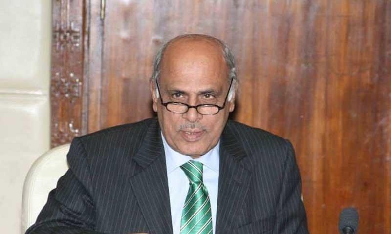 Governor Malik Muhammad Rafiq Rajwana. PHOTO: ONLINE