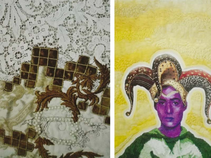 thesis show students grapple with gender fluidity antiquity and war