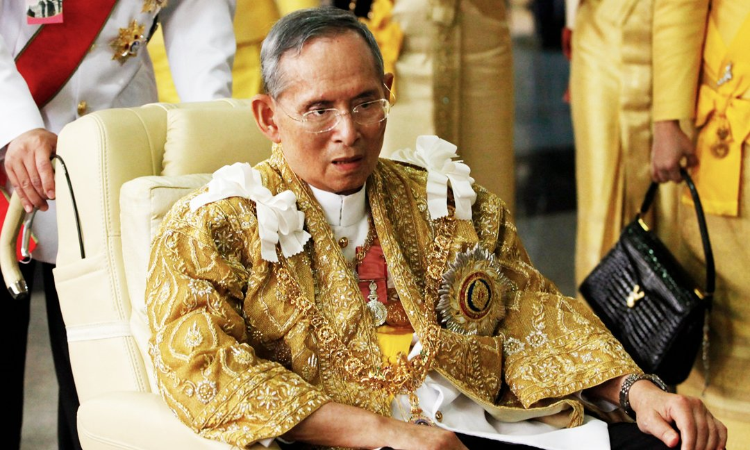 thai king improving after heart operation palace
