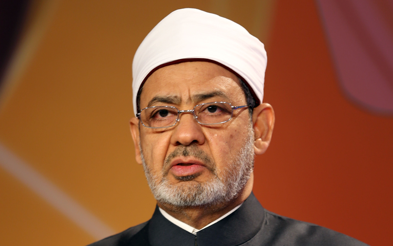 Sheikh Ahmed Mohamed el-Tayeb, Egyptian Imam of al-Azhar Mosque Photo: Reuters