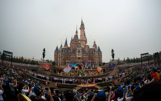 disney opens first theme park in mainland china