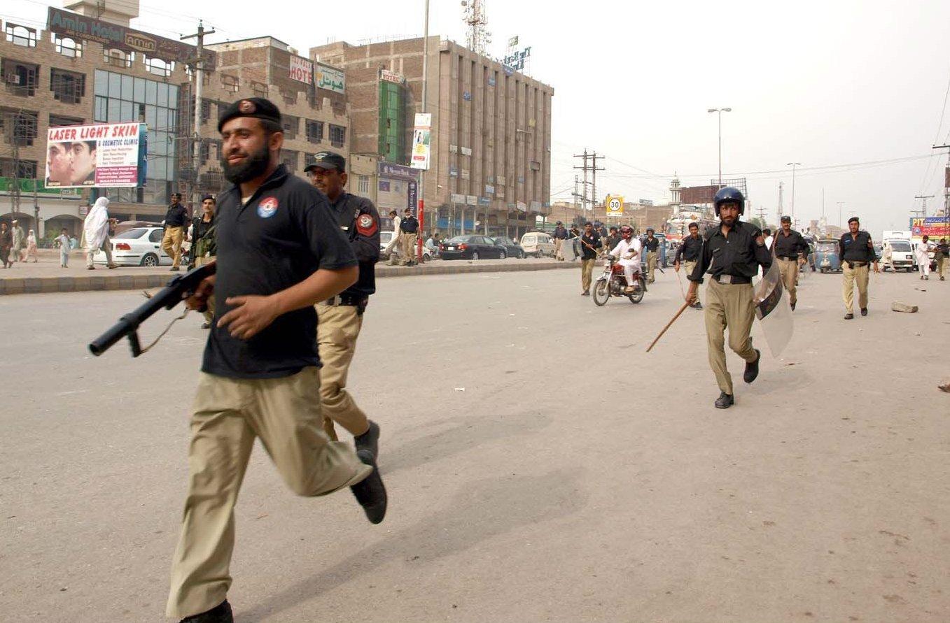 a file photo of peshawar police photo nni