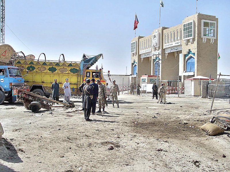 a file photo of chaman border crossing photo app