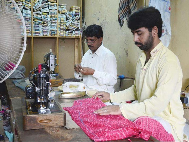 no stitch in time saves no nine residents vexed as tailors charge high prices before eid