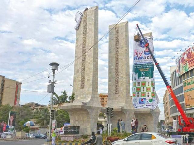 inspection of controversial construction of pedestrian bridge at teen talwar ordered