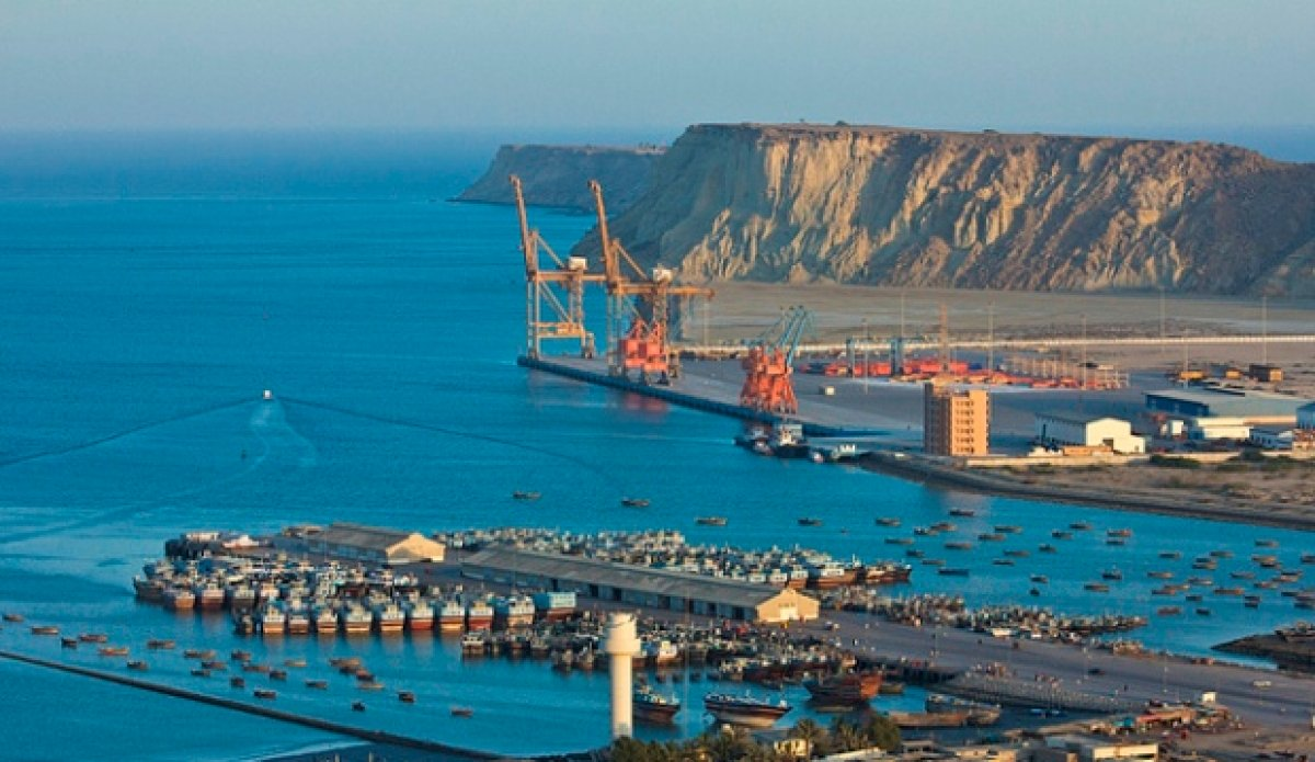 A view of the port city of Gwadar. PHOTO: REUTERS