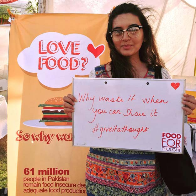 how two girls are tackling the food waste challenge in karachi