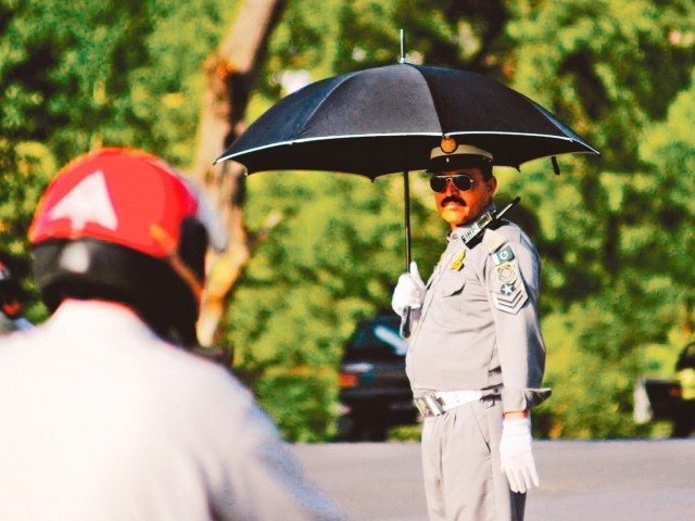 traffic personnel will be assigned extra duties photo muhammad javaid