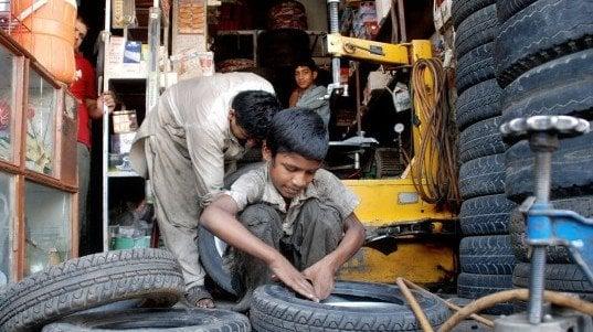 crackdown against child labour