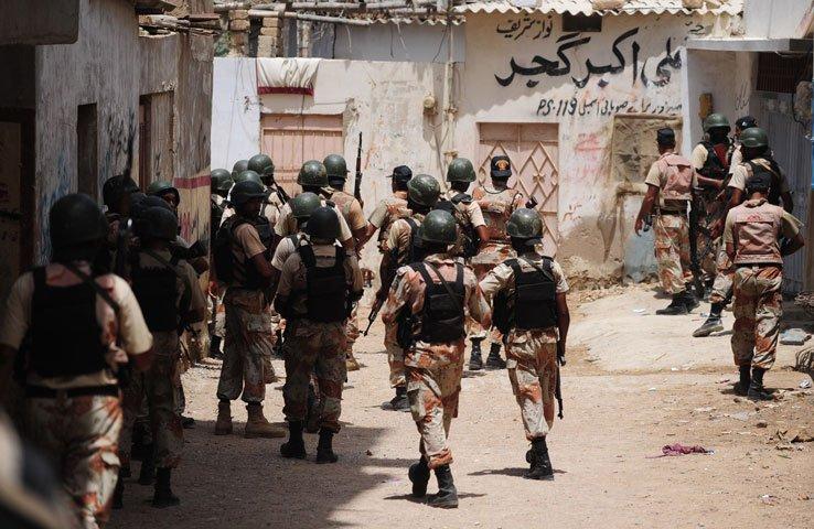 Sindh Rangers. PHOTO: AFP