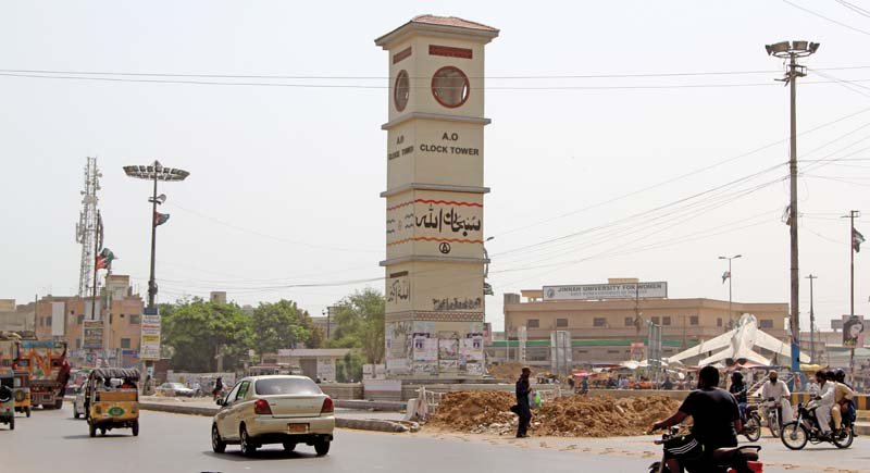 you win some you lose some kmc to dismantle ao clock tower in north nazimabad