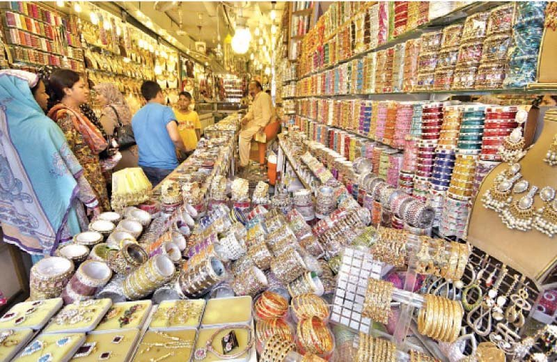 eid shopping is in full swing in the bazaars of islamabad and rawalpindi photo file