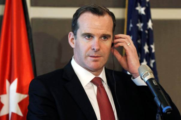 anti is fight expected to wrap up within 14 months special envoy brett mcgurk