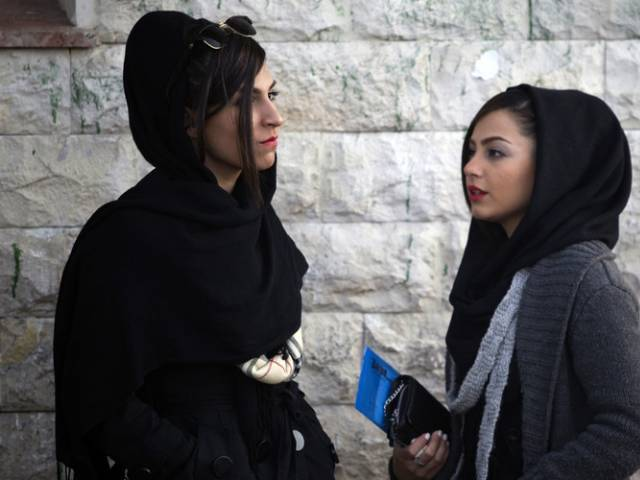 iran police stop levi s catwalk show