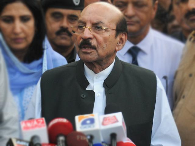 Sindh Chief Minister Qaim Ali Shah. PHOTO: EXPRESS
